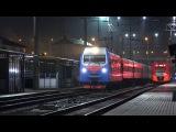 [Ultra HD] Электропоезд ЭС1-014 «Ласточка», электровоз ЭП1М-659