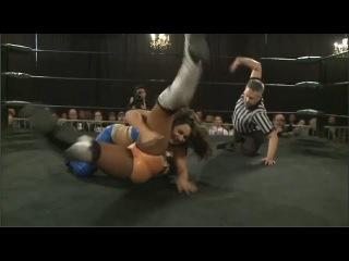 Female Wrestling Goddess: Athena vs Nikki Storm