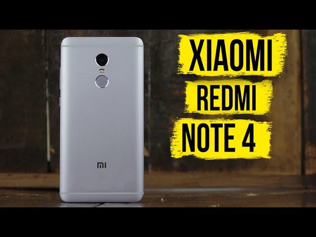 Xiaomi Redmi Note 4: обзор и мнение об очередном хите народной линейки | review | обсуждение