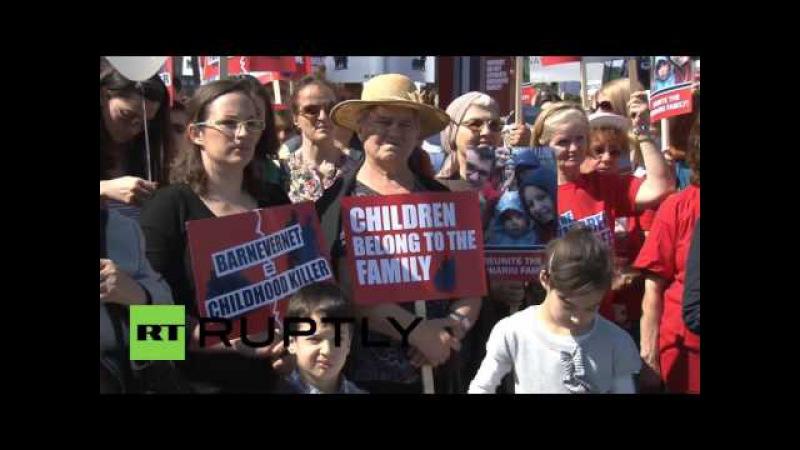Румыния: Порицают захват 1000с детьми от Румынско-Норвежской семье.