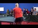 Уроки настольного тенниса на Новой Риге. Урок 3.