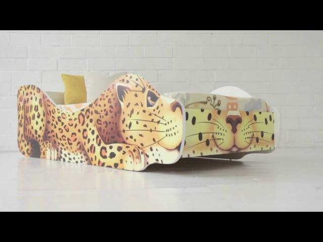 Кровати-зверята от мебельной фабрики Бельмарко