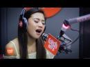 Morissette covers Secret Love Song (Little Mix) LIVE on Wish 107.5 Bus