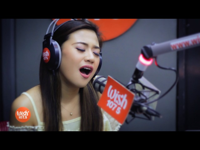 Morissette covers Secret Love Song (Little Mix) LIVE on Wish 107.5 Bus