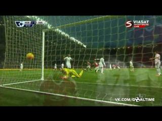 Манчестер Юнайтед - Суонси 2:1. Обзор матча. Английская Премьер Лига 2015/2016. 20 тур.