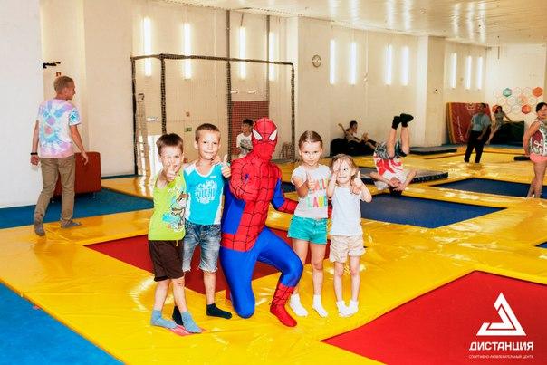 Детский спортивный комплекс с батутами