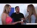 20 летняя и 28 летняя девушки занимаются групповым сексом с качком. (Nicole Aniston, Jillian Janson, Johnny Castle, TEEN)