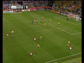 Футбол. Чемпионат мира-2006. Матч #35. Сборная Швеции - сборная Англии. 2-й тайм