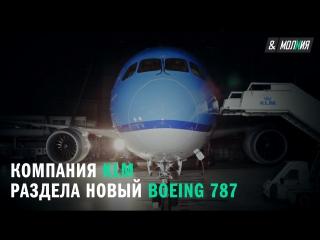 Компания KLM раздела новый Boeing 787