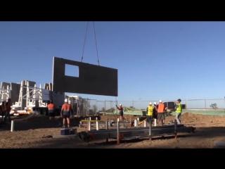 Строительство частного дома в США за 3 месяца