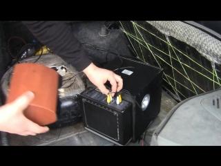 Простой инвертор 220в + Буфер в авто своими руками ¦ Доработки ЗАЗ Славута