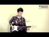 Уроки гитары Киев - Ten Words Joe Satriani (cover). SERENADA.IN.UA