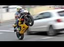 Bikers 75 - BMW HP4, Suzuki Honda Wheelies and Burnouts, Kawasaki, Yamaha - Superbikes Sounds