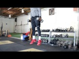 Top 10 Vertical Drills #5 Dumbbell Rhythm Squat Jumps Overtime Athletes