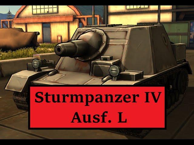 MAD TANKS   Sturmpanzer IV Ausf. L