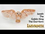 Labyrinth Jareth The Goblin King the owl-form polymer clay tutorial )