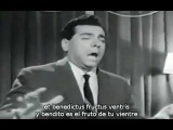 Mario Lanza - Ave Maria de Schubet (subt