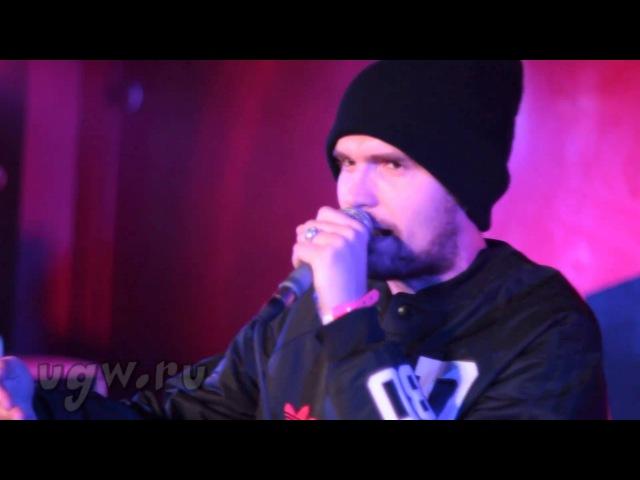 Noize MC - freestyle @ live Maestro A-Sid 07-03-2011 FM Club