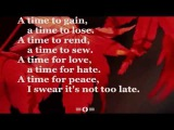 TURN! TURN! TURN! (Lyrics) - THE BYRDS