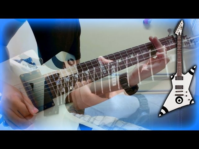 Toccata And Fugue (Dracula Theme) - Metal Guitar Version - Full HD 1080p