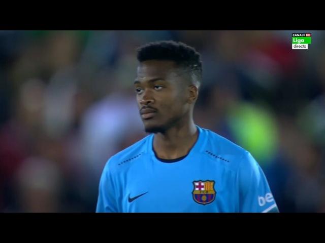 Wilfrid Kaptoum vs Villanovense (Away) (Debut) 15-16 HD 720p by Kleo Blaugrana