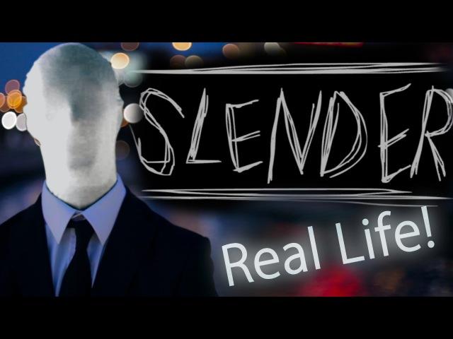 СЛЕНДЕРМЕН в Реальной жизни Прикол - SLENDERMAN in Real Life Prank !
