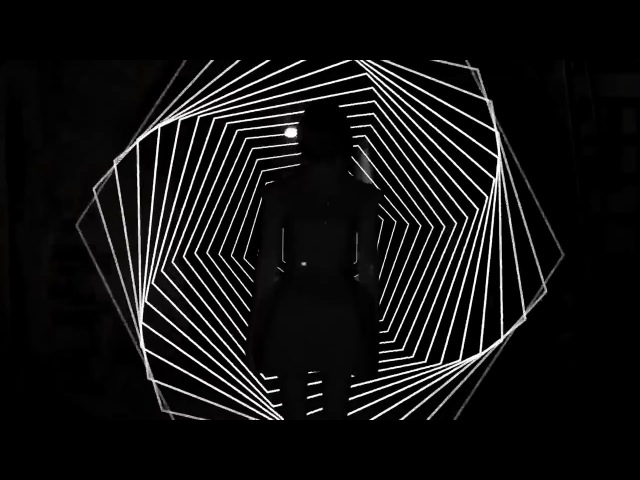 Psychedelic Black and White Luminous Mapping by Bİ'ŞEYLER