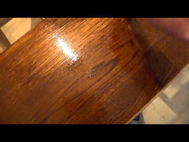Покраска тонирование древесины лазурями на алкидной основе