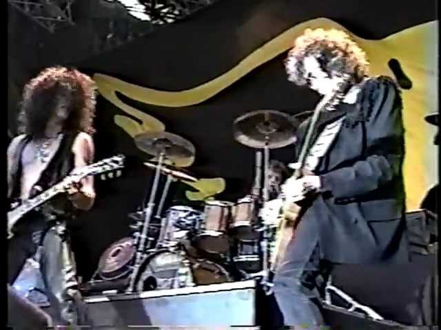 Aerosmith/Jimmy Page - Train Kept A Rollin' - Donington 1990 (SBD)