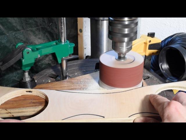 Шлифовальный барабан своими руками / DIY Sanding Drum