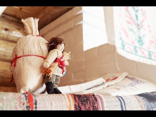 Видео-урок по изготовлению народной куклы Спиридон Солнцеворот