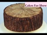 (vk.com/LakomkaVK) Making a Log Cake