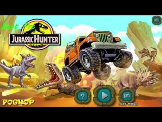 Jurassic Hunter - Dinosaur-killer - Юрский охотник - игра о динозаврах