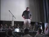 USO Show Al Asad Iraq - Robin Williams, John Elway, Leeann Tweeden, and Blake Clark