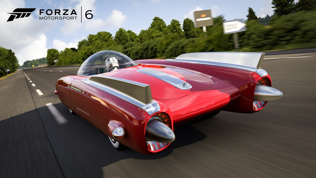 Rocket's 69 из Fallout4 в Forza Motorsport 6