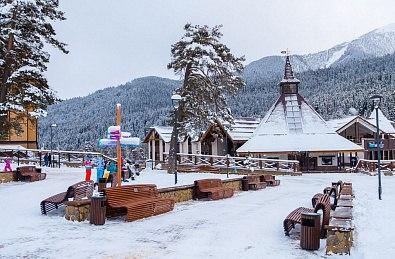 Курорт «Архыз» стал популярным местом отдыха для туристов