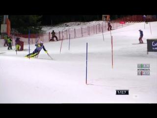 Кубок Мира 2015-2016. Этап 7 - Мадонна ди Кампильо (Италия), Слалом, 2-я попытка, Мужчины