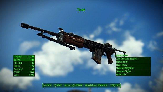 Китайская штурмовая винтовка для Fallout 4 - Скриншот 1