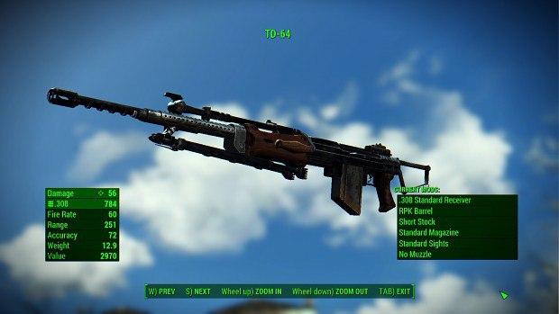 Китайская штурмовая винтовка для Fallout 4 - Скриншот 2