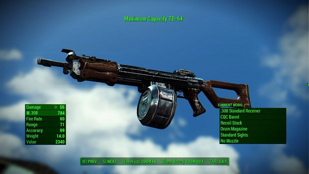 Китайская штурмовая винтовка для Fallout 4 - Скриншот 3