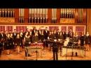 Concerto for Marimba and Choir by Gene Koshinski. Антон Пантюхин, Хор ДГМА им.С.С.Прокофьева, Art Percussion