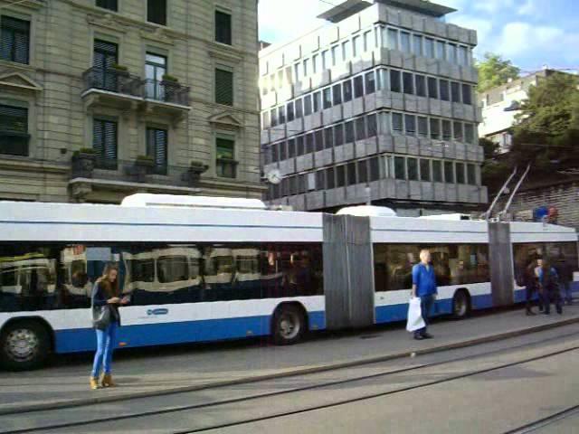 Cīrihes tramvaji un trolejbusi