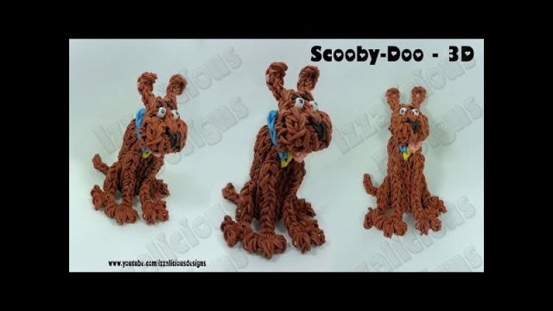 Rainbow Loom Scooby Doo Action Figure/Charm - Gomitas