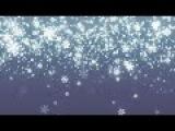 Новогодний HD футаж снегопад-падающие снежинки New Year HD footage snow - falling snowflakes