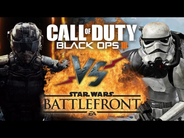 Рэп Баттл - Call of Duty: Black Ops 3 vs. Star Wars: Battlefront
