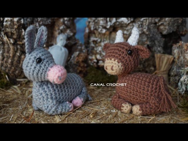 Mula y buey amigurumi tutorial
