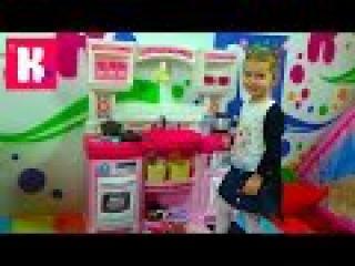 Кухня игрушечная с приборами Степ2 распаковка детской кухни игрушки Step 2 kitchen rise and shine