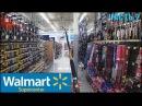 Walmart Supercenter part2 Магазин США Рыбалка, Каяки, Мангалы, Outdoor и т.п. (Store Walk Around)