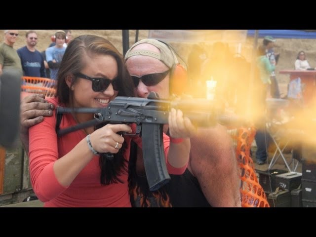 More of Dragon Mans 2013 Machine Gun Shoot