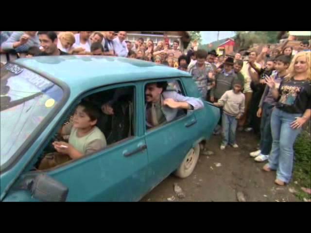 Borat taxi